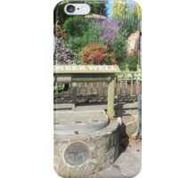 Country Town of 'Lobethal', Pioneer Well built 1886. Adelaide Hills. iPhone Case/Skin