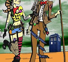 The Doctor Meets Tank Girl by Paul-Cringle