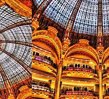 Les Galeries Lafayette - architecture in Paris by faithie