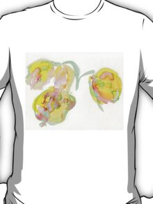 The Aquarelle Tulips T-Shirt