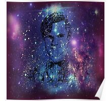 Matt Smith Galaxy Pillow/Tote Poster