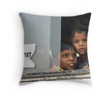 Wonder at the world Throw Pillow