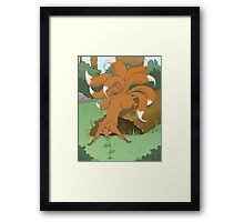 Creature Feature: The Kitsune Framed Print