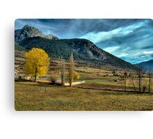 Unreal landscape Canvas Print