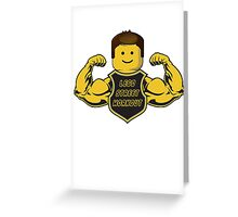 Lego Street Workout Greeting Card