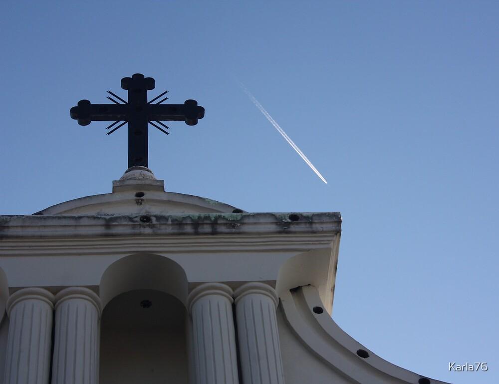 Iglesia de Suchitoto, El Salvador by Karla76