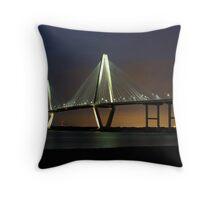 Arthur Ravenel Bridge Throw Pillow