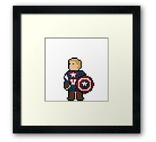 Captain America Framed Print