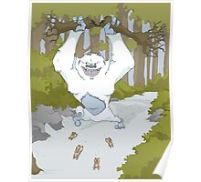 Creature Feature - The Yeti Poster