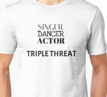 Triple Threat Unisex T-Shirt