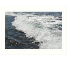 Waves at Zunzal Beach, El Salvador Art Print
