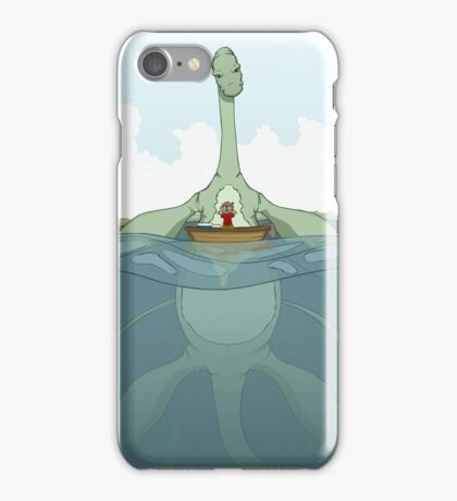 Creature Feature - The Loch Ness Monster iPhone Case/Skin