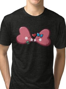 Cute Luvdisc Smooches Tri-blend T-Shirt
