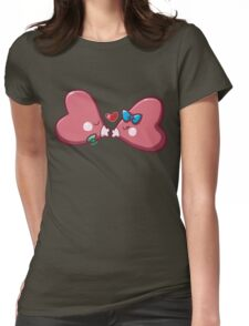 Cute Luvdisc Smooches Womens Fitted T-Shirt