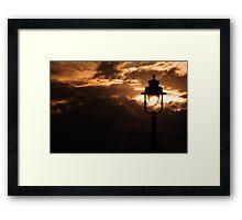 Lightening the world Framed Print