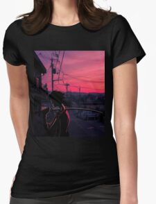 champloo in tokyo  Womens Fitted T-Shirt