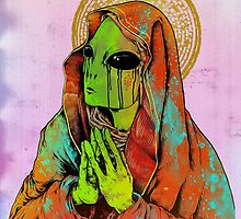 The Virgin Mother by KillerNapkins