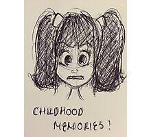 CHILDHOOD MEMORIES Photographic Print