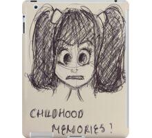 CHILDHOOD MEMORIES iPad Case/Skin