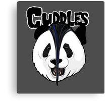 the misfits cute panda bear parody Canvas Print