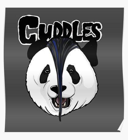 the misfits cute panda bear parody Poster