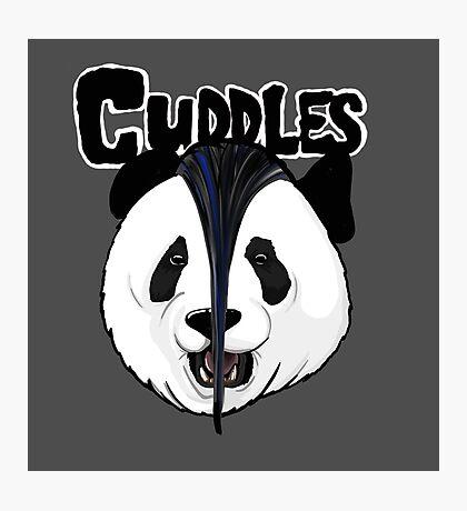 the misfits cute panda bear parody Photographic Print
