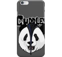 the misfits cute panda bear parody iPhone Case/Skin