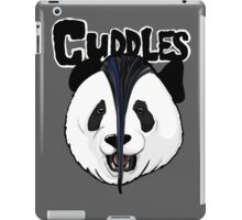 the misfits cute panda bear parody iPad Case/Skin