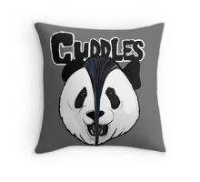 the misfits cute panda bear parody Throw Pillow