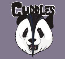 the misfits cute panda bear parody Kids Tee