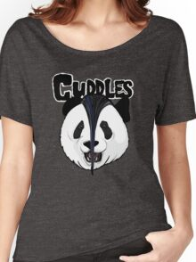 the misfits cute panda bear parody Women's Relaxed Fit T-Shirt