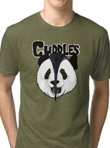 the misfits cute panda bear parody Tri-blend T-Shirt