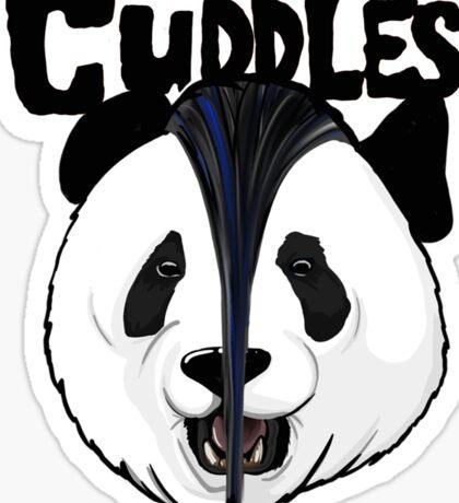 the misfits cute panda bear parody Sticker