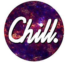 Chill Circle 2 Photographic Print