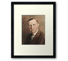 My Grandfather, John Stuart Smart Framed Print