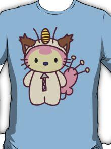 Hello Skitty - Meowth T-Shirt