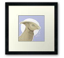 Parasaurolophus  Framed Print