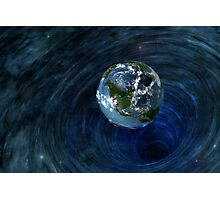 Earth Is In Trouble Photographic Print