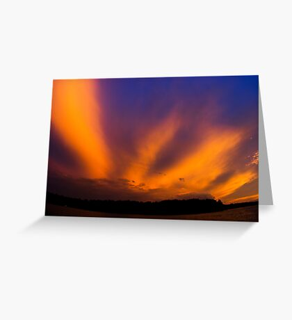Streaks Greeting Card