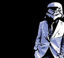 Storm Trooper In Suit by Jossosaurus