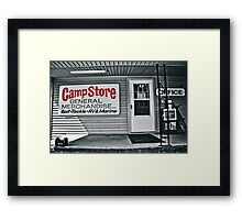 Bait and Tackle Framed Print