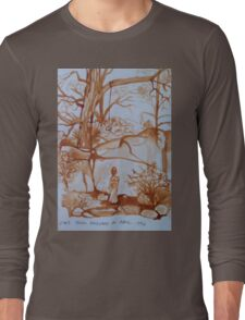 The View from Dad's Studio Long Sleeve T-Shirt