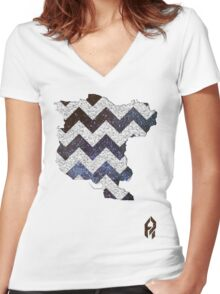 Simulacrum. Women's Fitted V-Neck T-Shirt