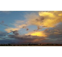Clouds at Sunset Photographic Print