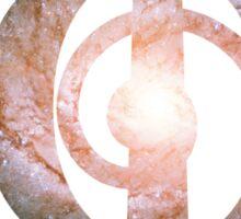Pinwheel Galaxy   Phi Spiral  Sticker