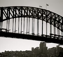 the harbour bridge by apey