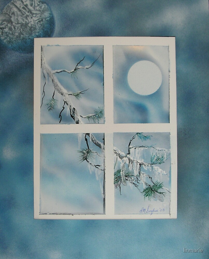 """Just a Simple Branch- 11""""x 14""""-2008 by linmarie"""
