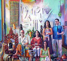 La Familia Espanola by Catalina  Viejo Lopez de Roda