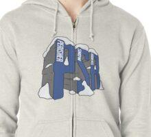 PSR 3D logo Zipped Hoodie
