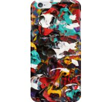 Colorful Abstract Design, Contemporary Art  iPhone Case/Skin